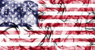 United States of America smoke flag, American flag, USA flag.  Stock Photo