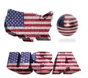 United states of america Symbols Stock Images