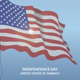 United States of America 4th of July. Independence Day. Vector 10. United States of America. 4th of July. Independence Day. Vector 10 stock illustration