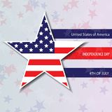 United States of America. 4th of July Independence Day. Vector 10. United States of America. 4th of July. Independence Day. Vector 10 royalty free illustration