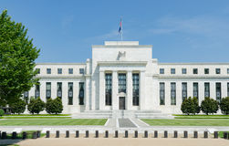 United States Of America USA Federal Reserve Building Stock Photo