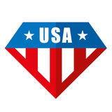 United states of America Vector logos Stock Photography