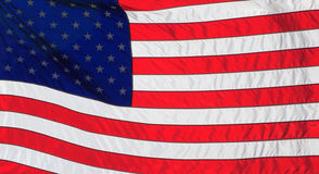 United States or American Flag. American or United States flag Stock Images