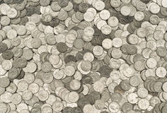United States American Quarters Royalty Free Stock Images