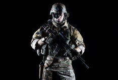 United States Army ranger Royalty Free Stock Photo