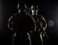 United States Army rangers Stock Images