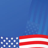 United States background Stock Photography