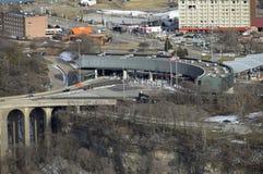 United States border Stock Photo