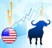 United States Bull Market Stock Images