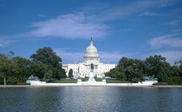 United States Capitol. In the afternoon of August 2011 Royalty Free Stock Photo