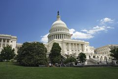 United States Capitol Royalty Free Stock Photo