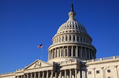 United States Capitol Building Royalty Free Stock Photography