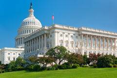 United States Capitol Building. Southwest side view of the United States Capitol Building; GPS information is in the file Royalty Free Stock Images