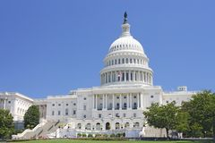 United States Capitol Building Stock Image