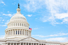 United States Capitol building. United States Capitol dome in Washington DC Stock Photography