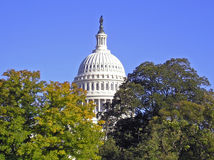 United States Capitol Building. Dome of the United States Capitol Building, Washington, DC Stock Image
