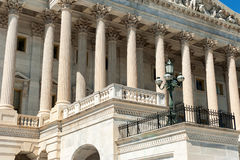 United States Capitol Building east facade in daylight Stock Photo
