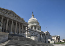 United States Capitol Building. Front of the United States Capitol Building in Washington D.C Stock Photography