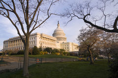 United States Capitol Building. The United States Capitol Building on the mall in Washington D.C Stock Photos