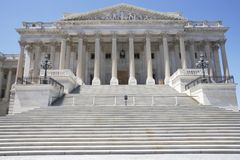 United States Capitol Building Northeast Portico Royalty Free Stock Photo