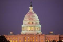 United States Capitol Building at Sunset, Washington, D.C. Stock Photos