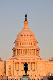 United States Capitol Building. At sunset in Washington, DC, USA Stock Photography