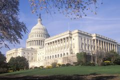 United States Capitol Building, Washington, D.C. Royalty Free Stock Images