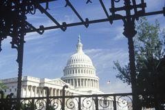 United States Capitol Building, Washington, D.C. Royalty Free Stock Images