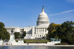 United States Capitol Building. The United States Capitol Building in Washington D.C. on October 23, 2010 Royalty Free Stock Image