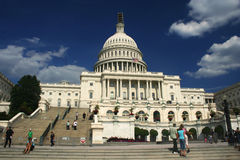 The United States Capitol Building, Washington DC Royalty Free Stock Photography