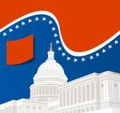 United States Capitol Building. In Washington DC Stock Image