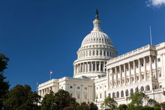 United States Capitol Building, Washington, DC Royalty Free Stock Photos