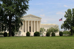 United States Supreme Court building. stock photos