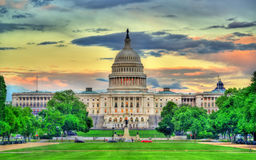 The United States Capitol Building in Washington, DC Royalty Free Stock Photography