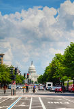 United States Capitol building in Washington, DC as seen from Pe Stock Images