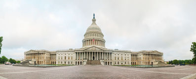 United States Capitol building in Washington, DC. Early in the morning Royalty Free Stock Photos
