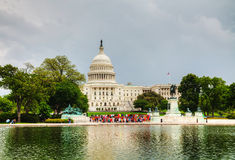 United States Capitol building in Washington, DC Royalty Free Stock Image