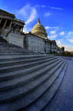 United States Capitol Building in Washington DC public building Royalty Free Stock Photography