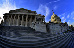 United States Capitol Building in Washington DC public building Royalty Free Stock Image