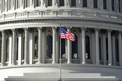 United States Capitol Building in Washington DC public building Royalty Free Stock Images