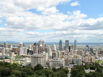 View of Montreal Skyline royalty free stock photos