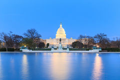 The United States Capitol building in Washington DC, USA - after Stock Image