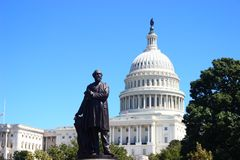 The United States Capitol building in Washington DC Stock Photo
