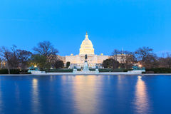 The United States Capitol building in Washington DC, USA  Stock Photo