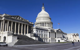 The United States Capitol building Royalty Free Stock Photos