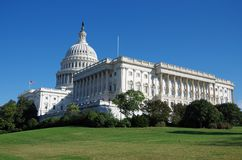 United States Capitol Building in Washington DC stock images