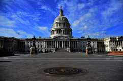 United States Capitol Building in Washington DC Stock Image