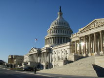 United States Capitol East Portico Royalty Free Stock Photography