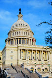 United States capitol hill closeup, Washington DC Stock Photo