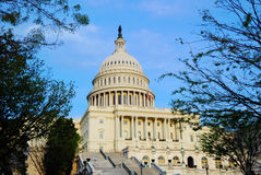 United States capitol hill, Washington DC Royalty Free Stock Photos